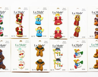 Brownie clipart la mode Buttons Snowmen Angel Buttons Bear
