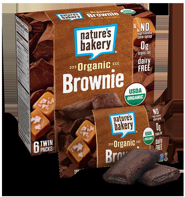 Brownie clipart organic Bars Brownie Caramel Nature's Bakery