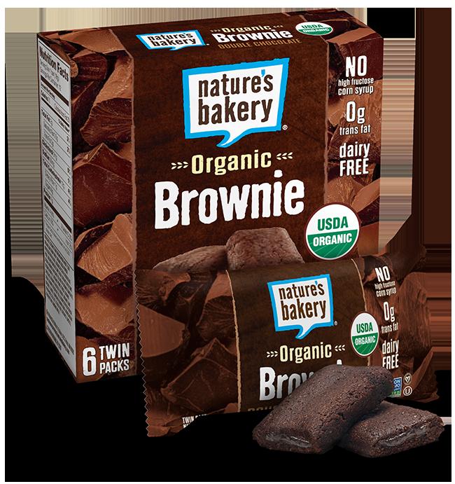 Brownie clipart organic Brownie Organic Chocolate Nature's Bakery