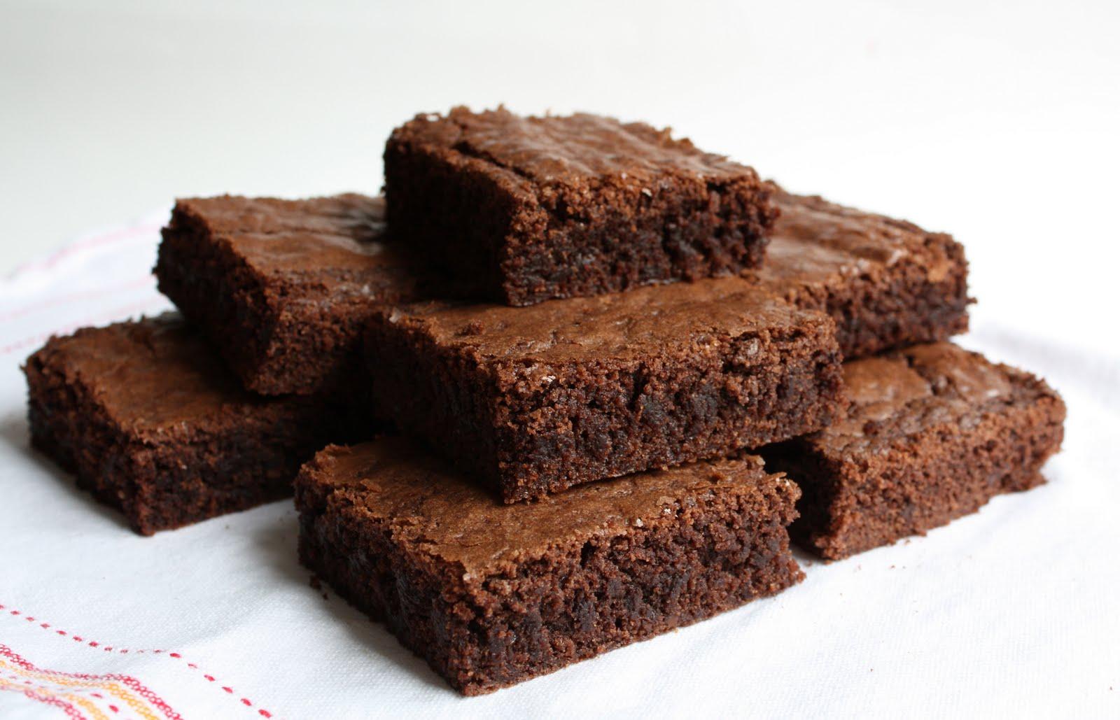 Brownie clipart pan brownie Recipe Dark  Treats Bakes