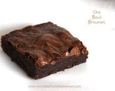 Brownie clipart pan brownie And Brownies Bowl One Courgettes