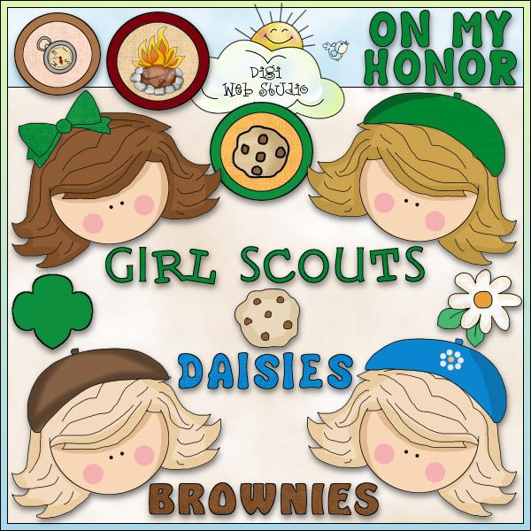 Brownie clipart scout Clipart Brownie – Clipart Scout