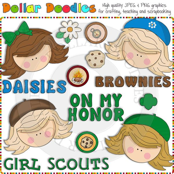 Brownie clipart scout Girl best Scout Brownie Clip