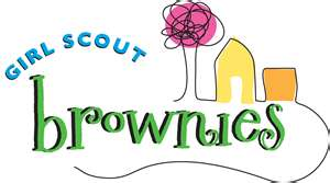 Brownie clipart scout Brownie scout logo song Brownie