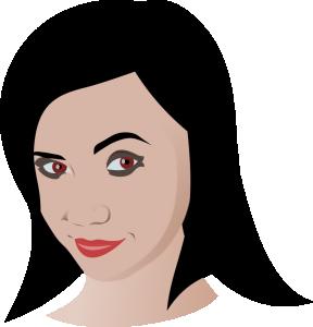 Brunette clipart Brunette Art Download Ardor Clip