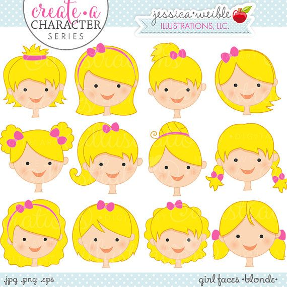 Brunette clipart student face Series Pinterest face Girl ideas
