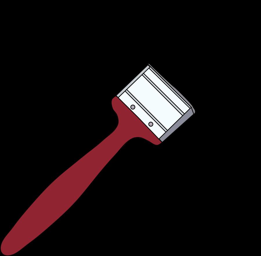 Larger clipart paintbrush Free Art Clipart Paint Clipart