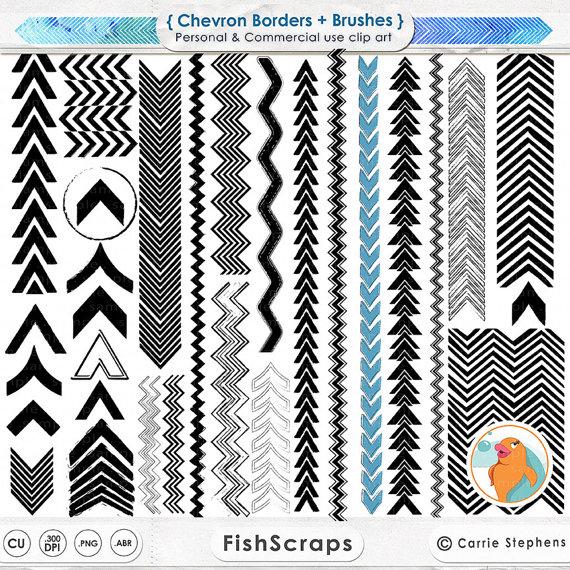 Brush clipart arrow Brush Arrow Stamp FishScraps Stamp
