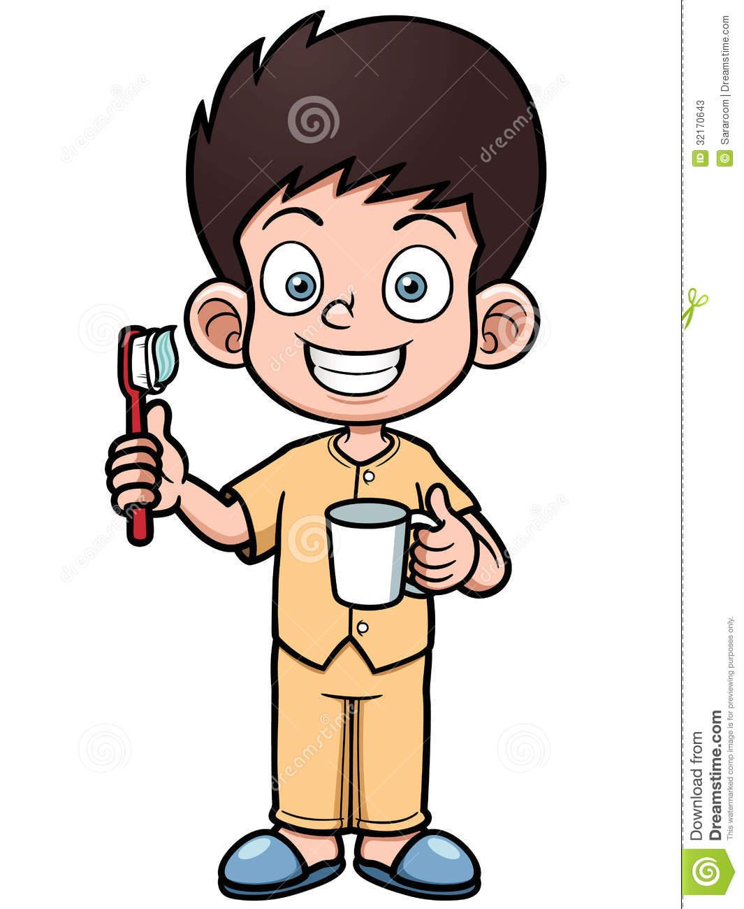 Brush clipart boy Teeth Brush boy boy clipart