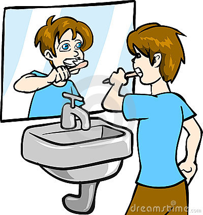 Teeth clipart boy Are teeth We Brushing Collection