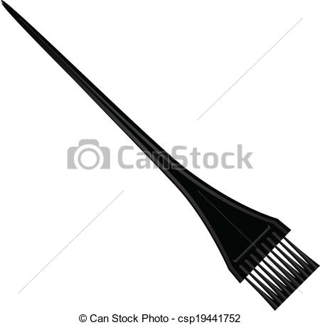Brush clipart coloring Hair Clipart Cosmetic for dye