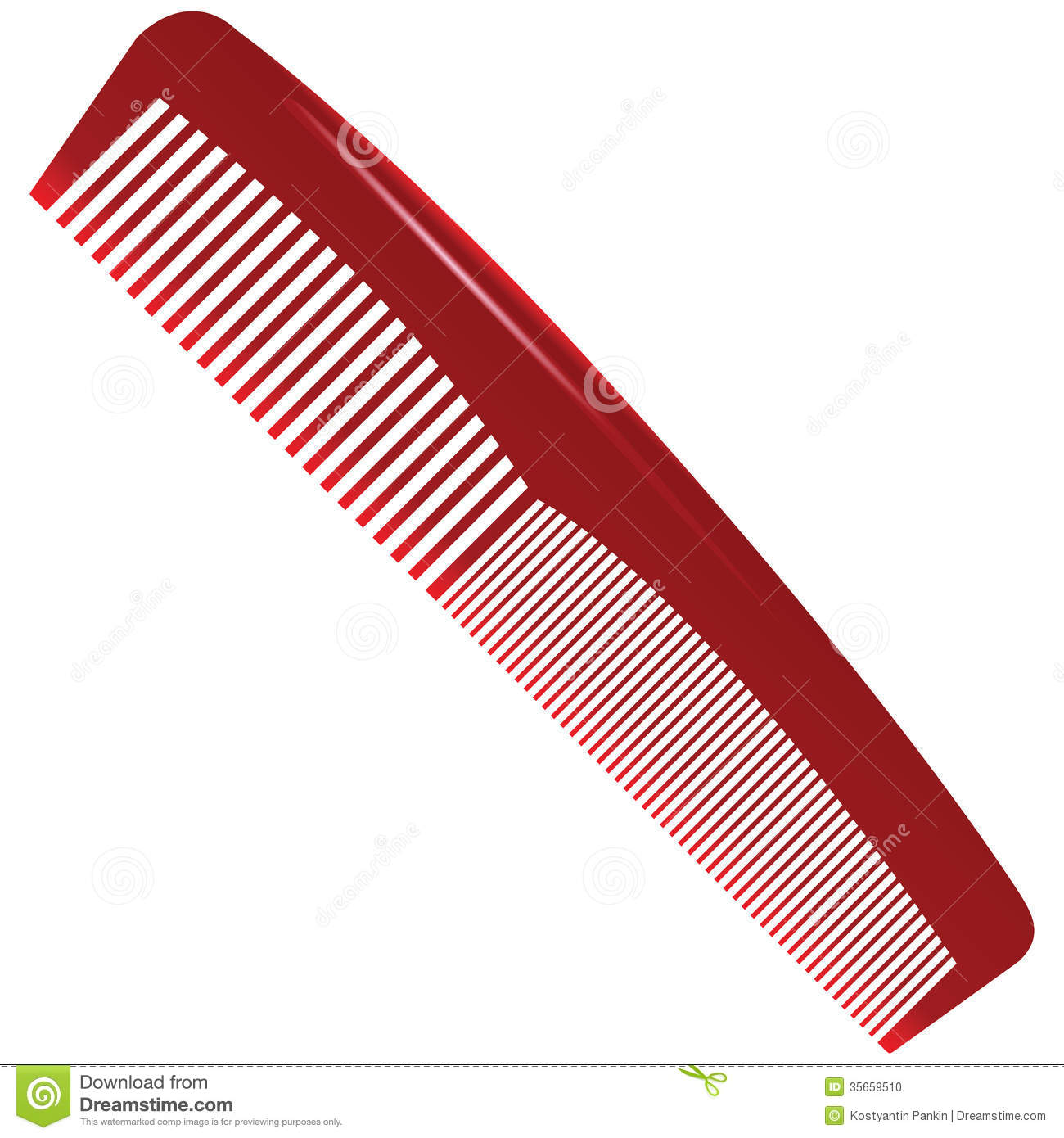 Brush clipart comb Brush and Hair collection clip