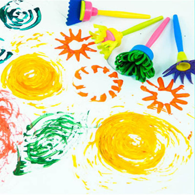 Brush clipart drawing material  : Aliexpress Flower toys