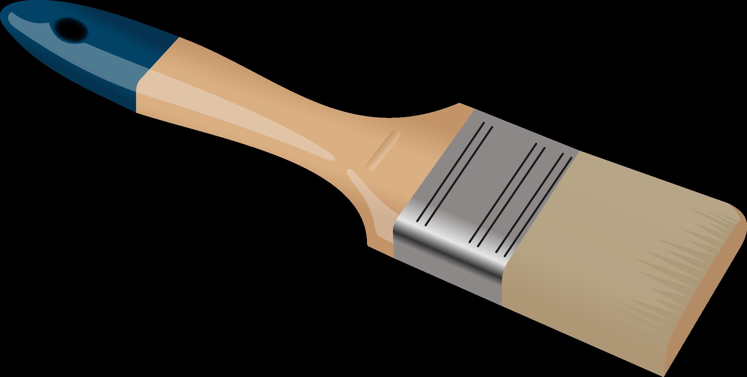 Larger clipart paintbrush Paint Clipartwork #7277 Clip art