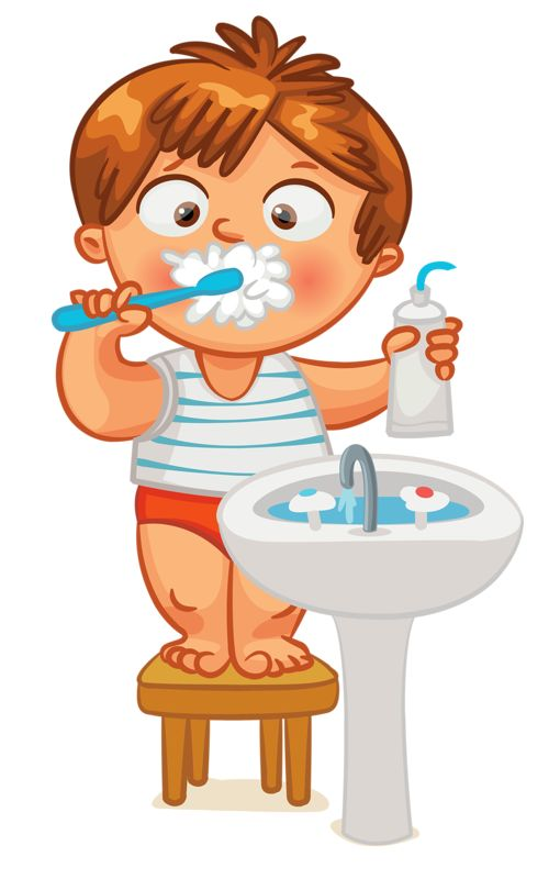 Child clipart banner Kid Tooth ideas Brush Clip