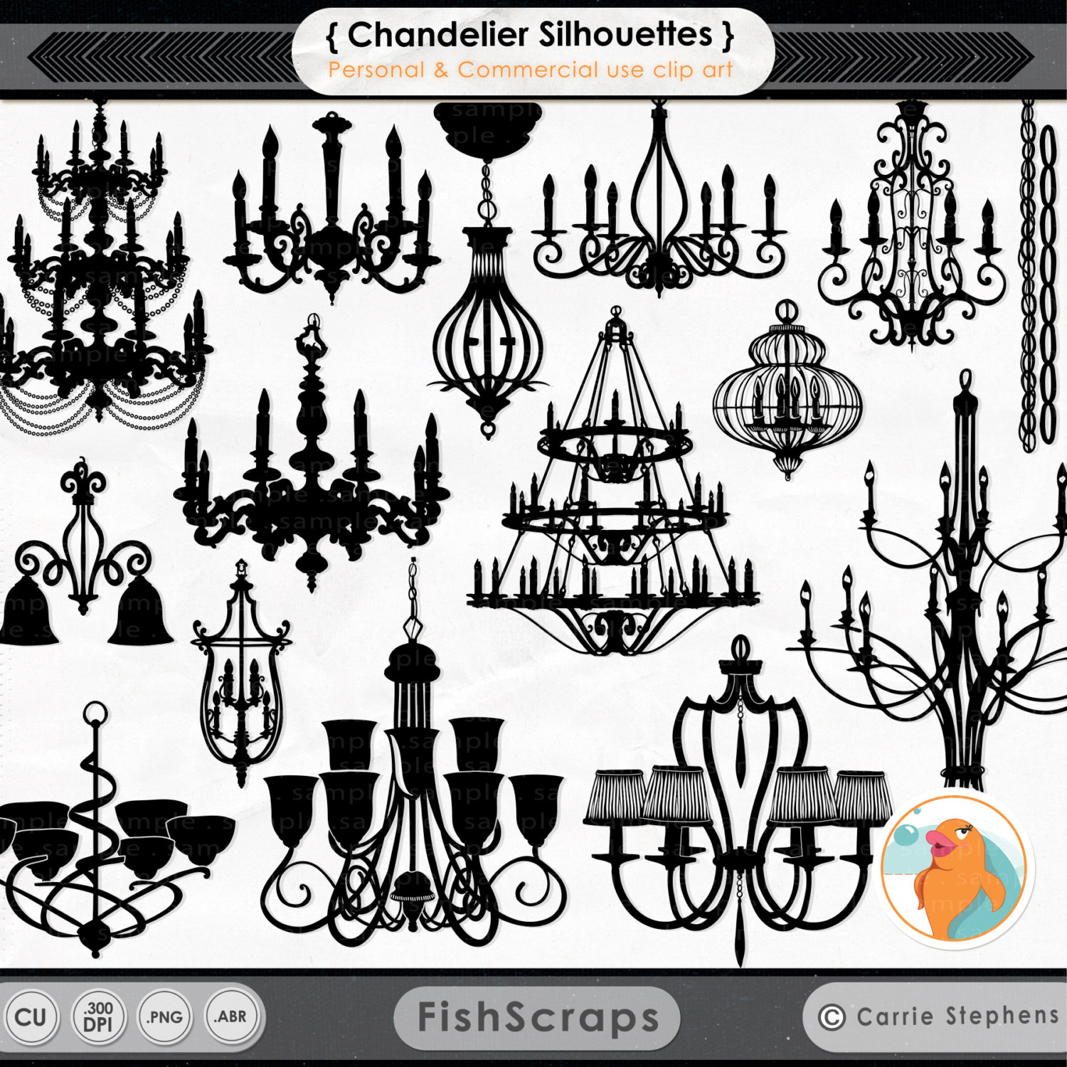 Chandelier clipart ceiling lamp Like item? Silhouettes Chandelier this