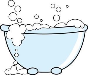 Bubble clipart bath bubble Bubbles With  Bathtub Clipart