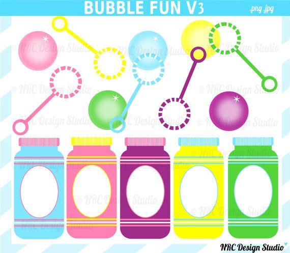 Bubble clipart bubble wand Digital best NRCDesignStudio Clip on
