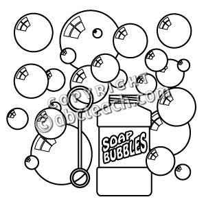 Bubble clipart bubles And Clip White Bubble Black
