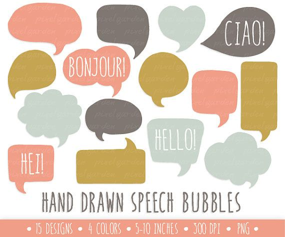 Drawn bubble  mint images Graphical Speech