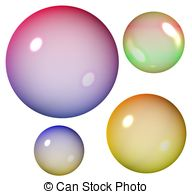 Bubble clipart colourful Illustrationby bubbles  Colored 820