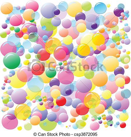 Bubble clipart colourful Art Download Art Bubbles Clip