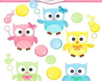 Bubble clipart cute Art clip art SALE Clip