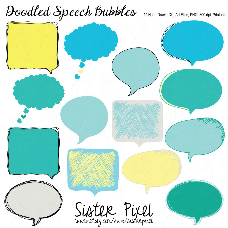Drawn bubble Art Art  speech clip