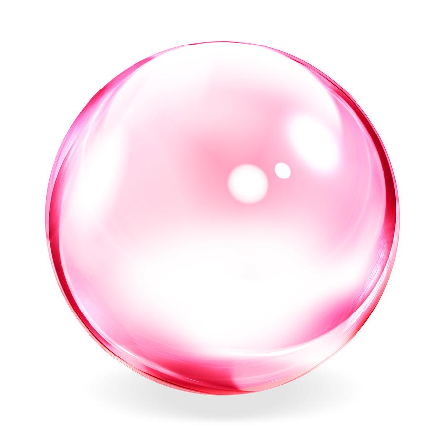 Bubble clipart pink bubble Visualization Bubble  Pink