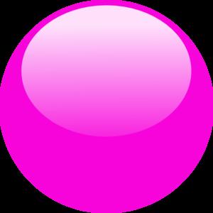 Bubble clipart pink bubble Clker Clip vector art Dark