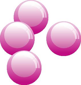 Bubble clipart pink bubble Vector Art art  Art