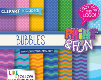 Bubble clipart pool party Clip Bubbles sea Background Digital