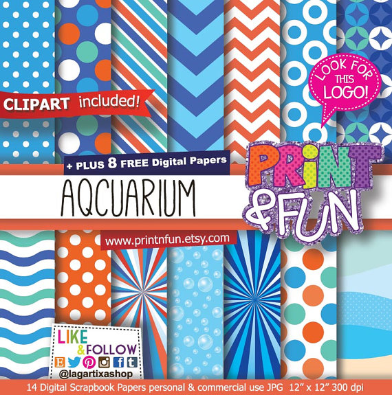 Bubble clipart pool party The Aquarium Paper orange the