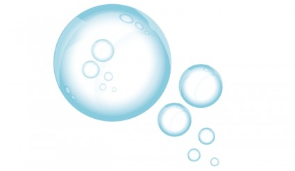 Bubble clipart soapy water Water Vector · All Water