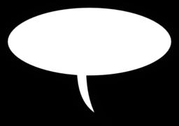 Bubble clipart speach Public Word speech domain bubbles