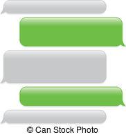Bubble clipart text message Clip text EPS  a