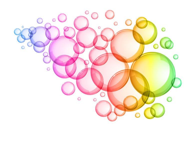 Water Blister clipart colorful bubble Bubbles Colorful Water  Clipart