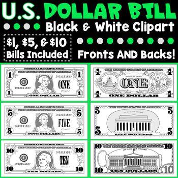 Buck clipart 10 dollar Fronts Kawaii Bills Pinterest Clipart