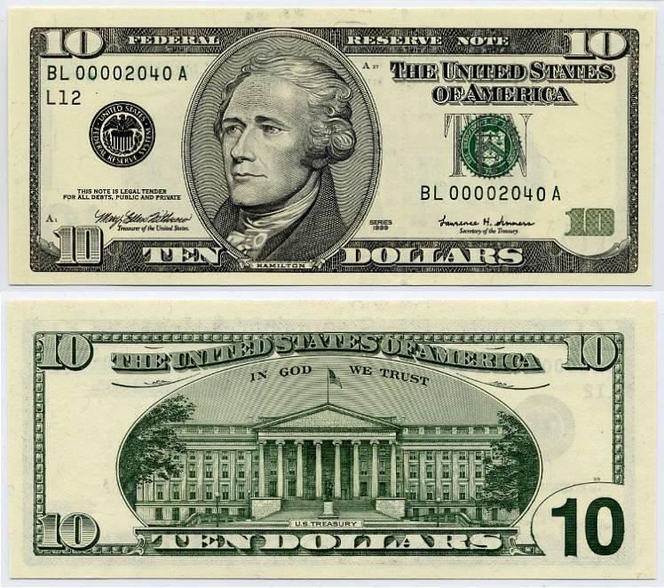 Buck clipart 10 dollar Bill Clipart Dollar Dollar 10