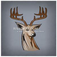 Buck clipart 12 point Point Rivalart Deer Buck Clipart