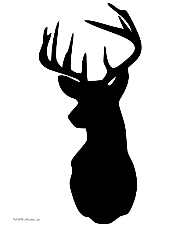 Antler clipart deer head Buck Clip clip head art