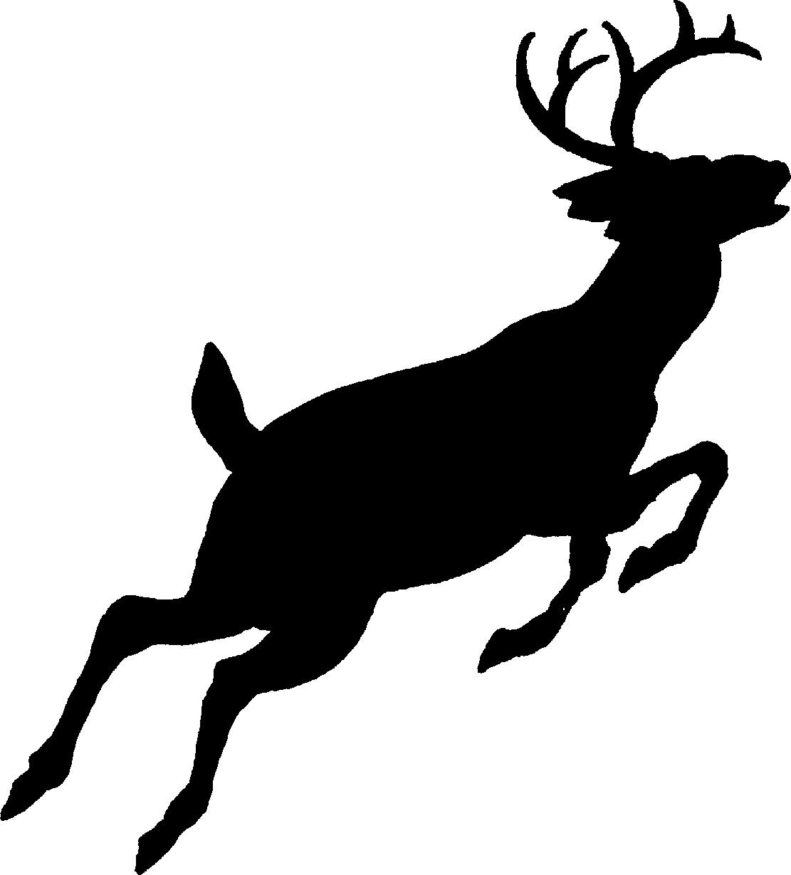 Buck clipart reindeer head Buck%20clipart Deer Clipart Black Clipart