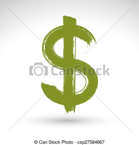 Buck clipart dollar On  Royalty Dollar photo_csp27584667