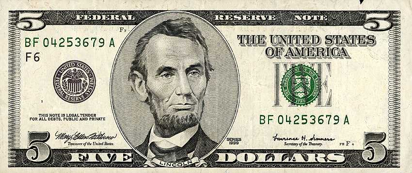 Buck clipart five dollar Is any It five dollar