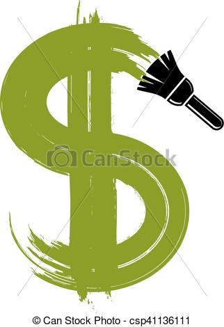 Buck clipart money symbol Money Vector Vector created Vector