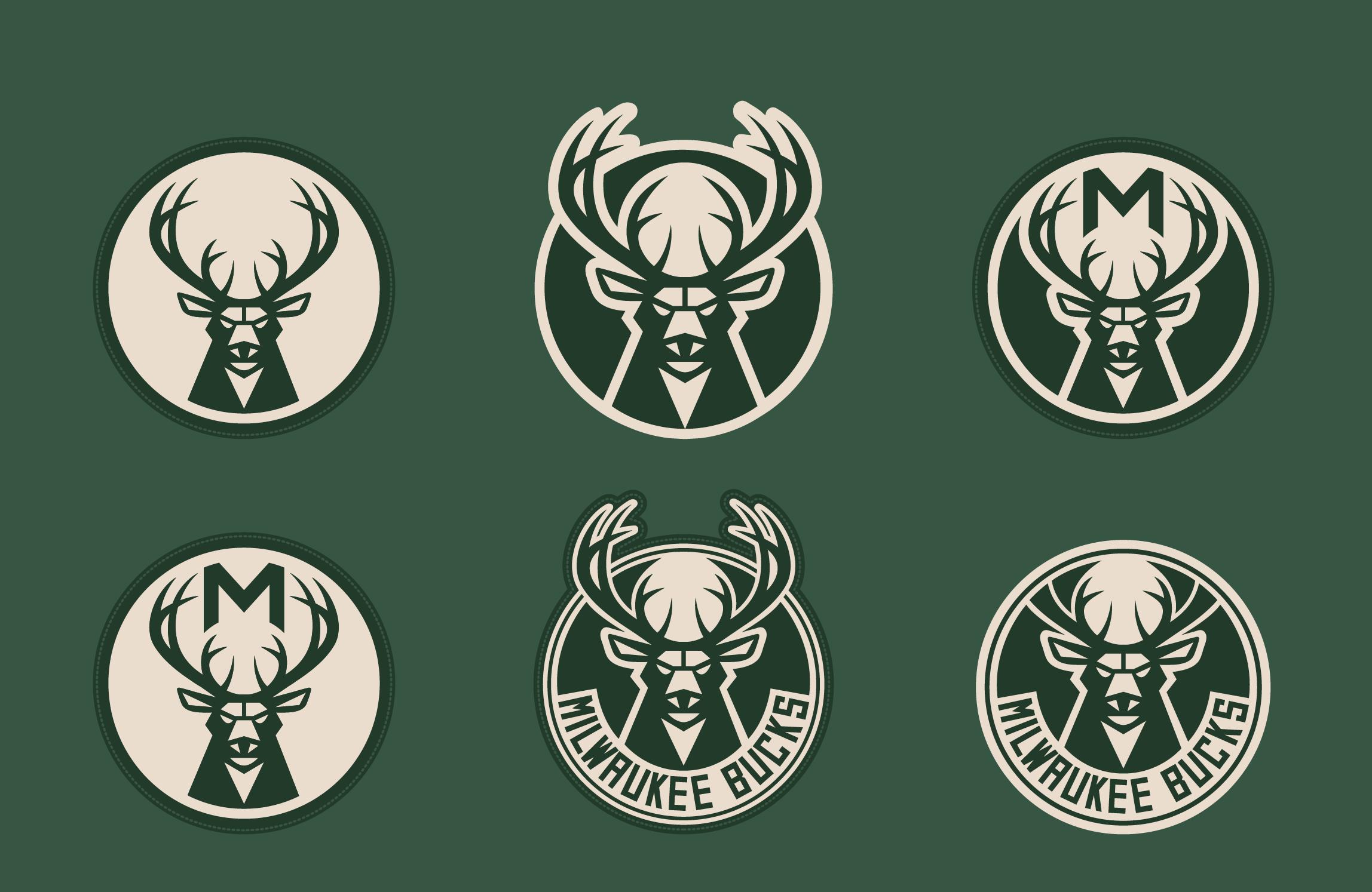 Buck clipart nba Redesign Inside Bucks' logo like