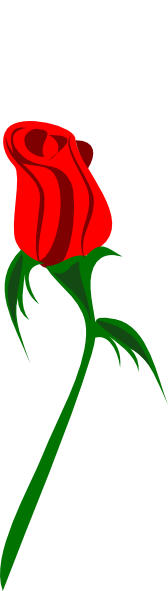 Bud clipart 2 Clip Art Red online