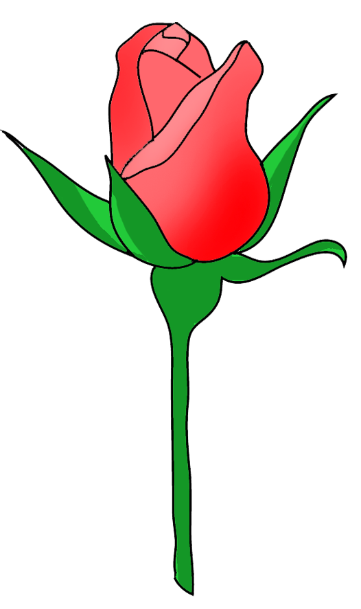 Yellow Rose clipart bud #10