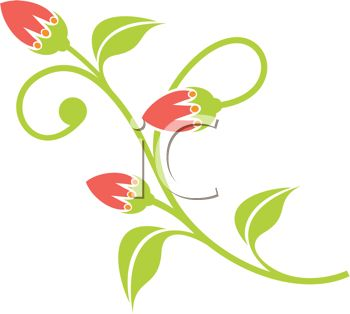 Roots clipart flower bud #9