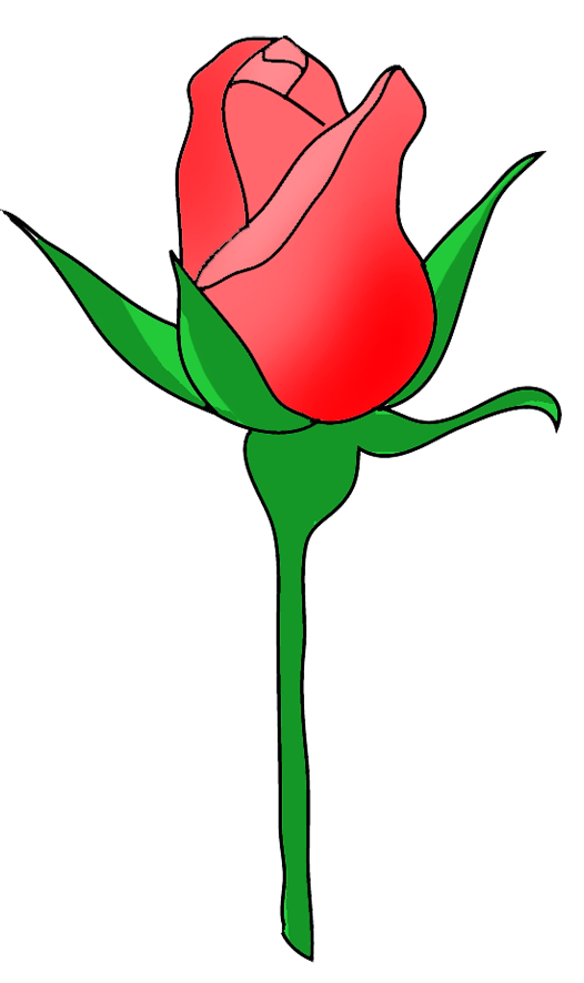 Bud clipart rose bud Rose Orange Clip Bud Clip